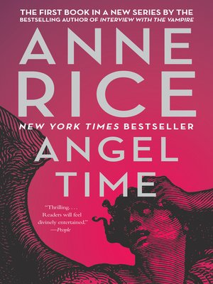 Click this cover for a(n) eBook sample of Angel Time.
