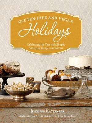 Click this cover for a(n) eBook sample of Gluten-Free and Vegan Holidays.