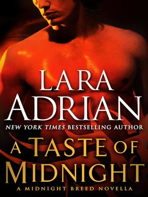 Click this cover for a(n) eBook sample of A Taste of Midnight.
