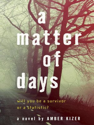 Click this cover for a(n) eBook sample of A Matter of Days.
