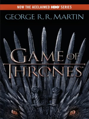 Click this cover for a(n) eBook sample of A Game of Thrones.