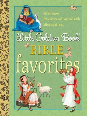 Cover of Little Golden Book Bible Favorites