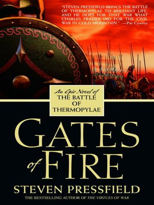 Click this cover for a(n) eBook sample of Gates of Fire.