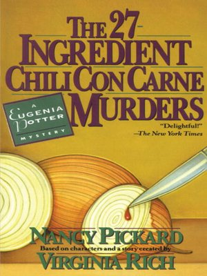Click this cover for a(n) eBook sample of The 27-Ingredient Chili Con Carne Murders