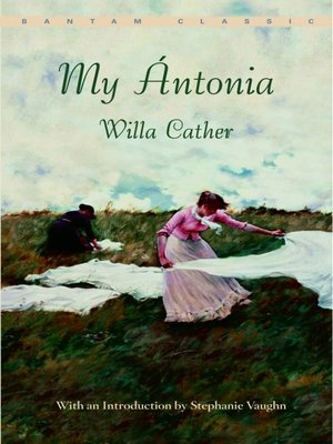 Click this cover for a(n) eBook sample of My Ántonia.