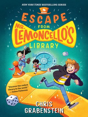 Click this cover for a(n) eBook sample of Escape from Mr. Lemoncello's Library