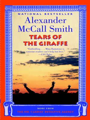 Click this cover for a(n) eBook sample of Tears of the Giraffe.