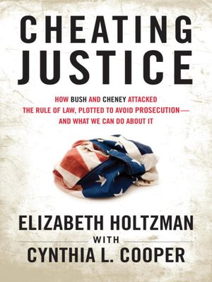 Click this cover for a(n) eBook sample of Cheating Justice.