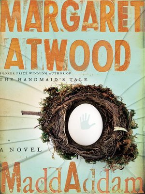 Click this cover for a(n) eBook sample of MaddAddam.