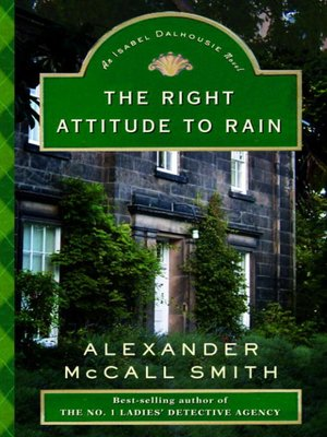 Click this cover for a(n) eBook sample of The Right Attitude to Rain.