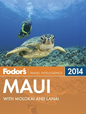 Click this cover for a(n) eBook sample of Fodor's Maui 2014
