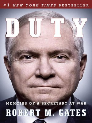 Click this cover for a(n) eBook sample of Duty: Memoirs of a Secretary at War.