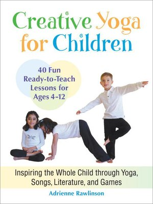 Click this cover for a(n) eBook sample of Creative Yoga for Children.