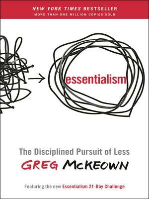 Click this cover for a(n) eBook sample of Essentialism.