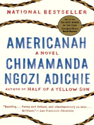 Click this cover for a(n) eBook sample of Americanah.