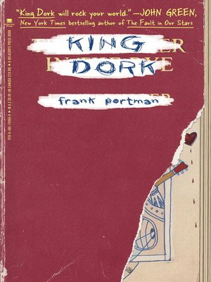 Click this cover for a(n) eBook sample of King Dork.