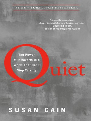 Click this cover for a(n) eBook sample of Quiet.