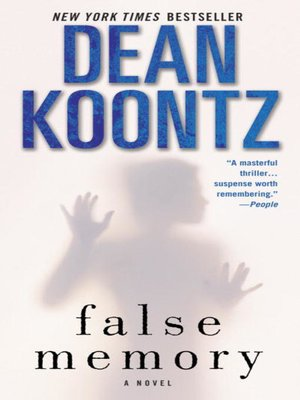 Click this cover for a(n) eBook sample of False Memory