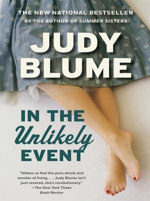 Cover of In the Unlikely Event