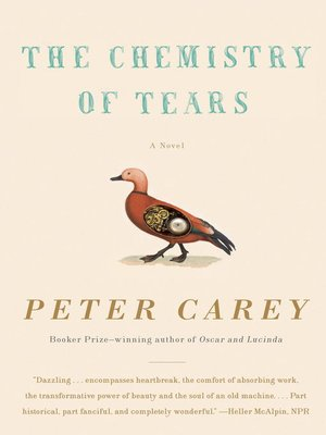 Click this cover for a(n) eBook sample of The Chemistry of Tears.
