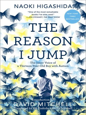 Click this cover for a(n) eBook sample of The Reason I Jump.