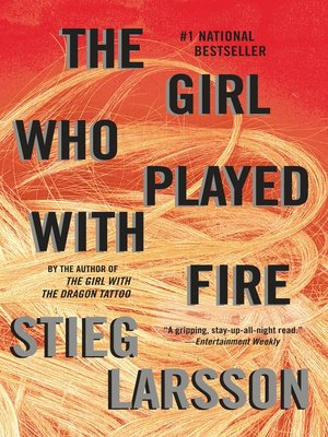 Click this cover for a(n) eBook sample of The Girl Who Played with Fire.