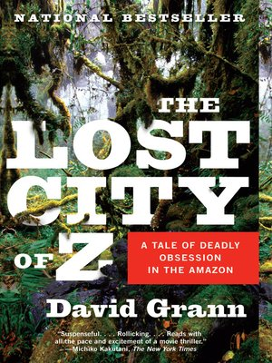 Click this cover for a(n) eBook sample of The Lost City of Z