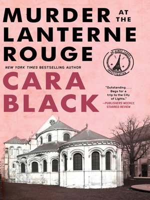 Click this cover for a(n) eBook sample of Murder at the Lanterne Rouge.