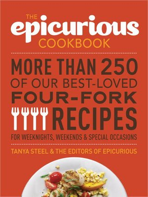 Click this cover for a(n) eBook sample of The Epicurious Cookbook.
