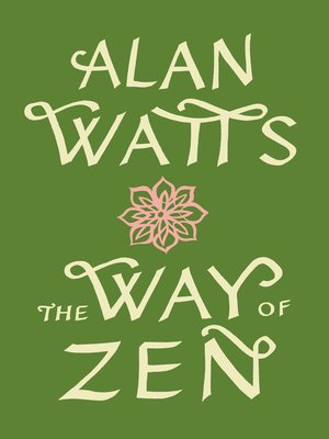 Click this cover for a(n) eBook sample of The Way of Zen.