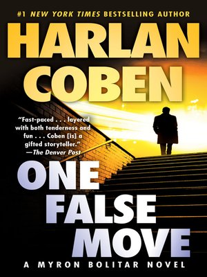Click this cover for a(n) eBook sample of One False Move.