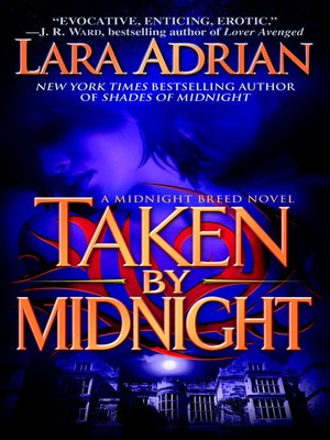 Click this cover for a(n) eBook sample of Taken by Midnight.