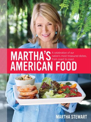 Click this cover for a(n) eBook sample of Martha's American Food