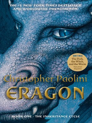Click this cover for a(n) eBook sample of Eragon.