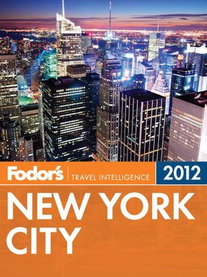Cover of Fodor's New York City 2012