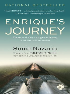 Click this cover for a(n) eBook sample of Enrique's Journey.