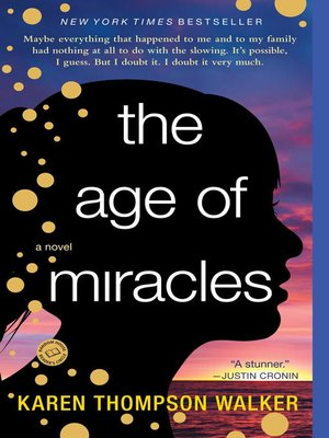 Click this cover for a(n) eBook sample of The Age of Miracles.