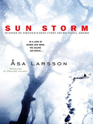 Click this cover for a(n) eBook sample of Sun Storm