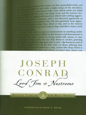 Cover of Lord Jim & Nostromo