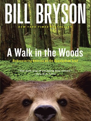 Click this cover for a(n) eBook sample of A Walk in the Woods