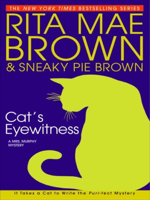 Click this cover for a(n) eBook sample of Cat's Eyewitness.