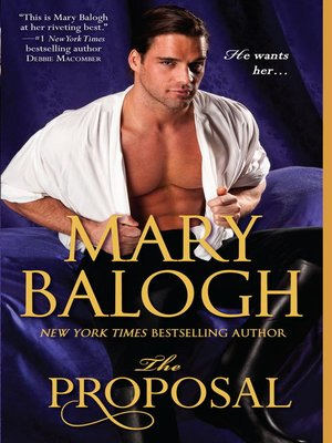 Click this cover for a(n) eBook sample of The Proposal