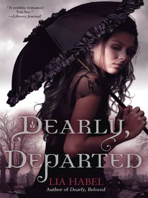 Click this cover for a(n) eBook sample of Dearly, Departed.