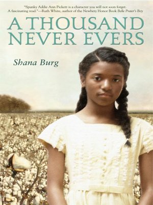Click this cover for a(n) eBook sample of A Thousand Never Evers.