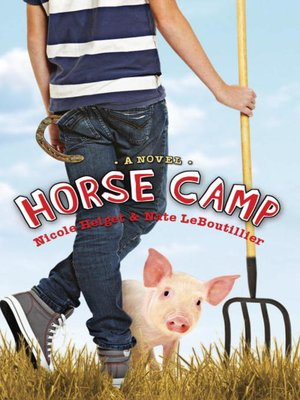 Click this cover for a(n) eBook sample of Horse Camp