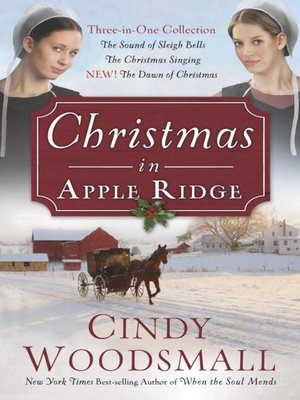 Click this cover for a(n) eBook sample of Christmas in Apple Ridge.