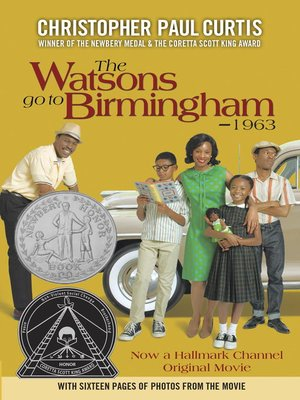 Click this cover for a(n) eBook sample of The Watsons Go to Birmingham - 1963.