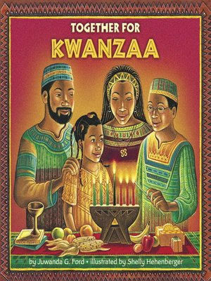 Click this cover for a(n) eBook sample of Together for Kwanzaa