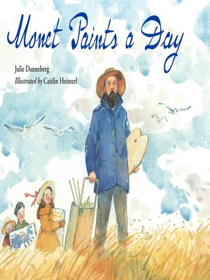 Click this cover for a(n) eBook sample of Monet Paints a Day.