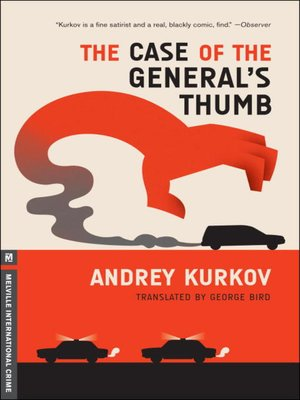 Click this cover for a(n) eBook sample of The Case of the General's Thumb